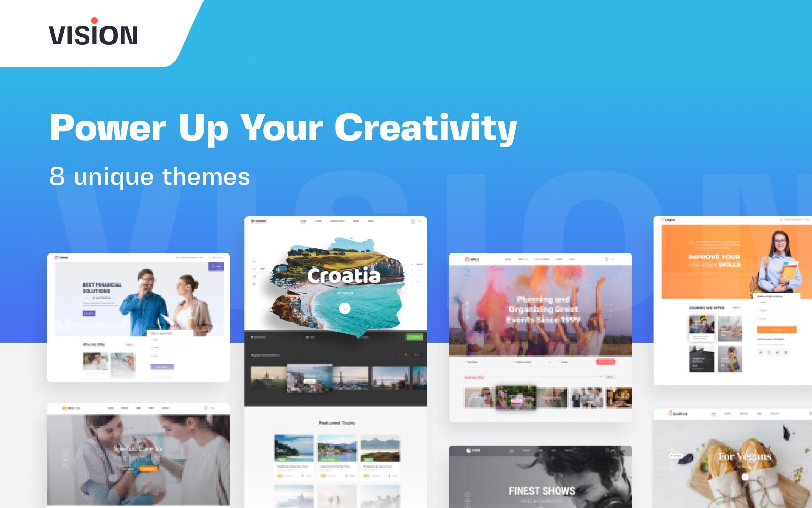 Vision - Responsive Multipurpose Website Template