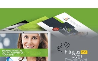 WealthFit | Fitness & Gym PowerPoint Template