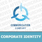 Communications Corporate Identity Template 9900