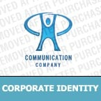 Communications Corporate Identity Template 9911