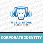 Music Corporate Identity Template 9912