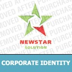 Media Corporate Identity Template 9913