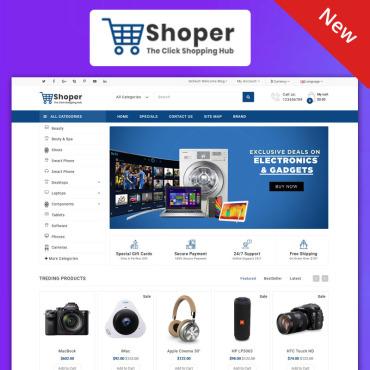 Купить  пофессиональные OpenCart шаблоны. Купить шаблон #99085 и создать сайт.