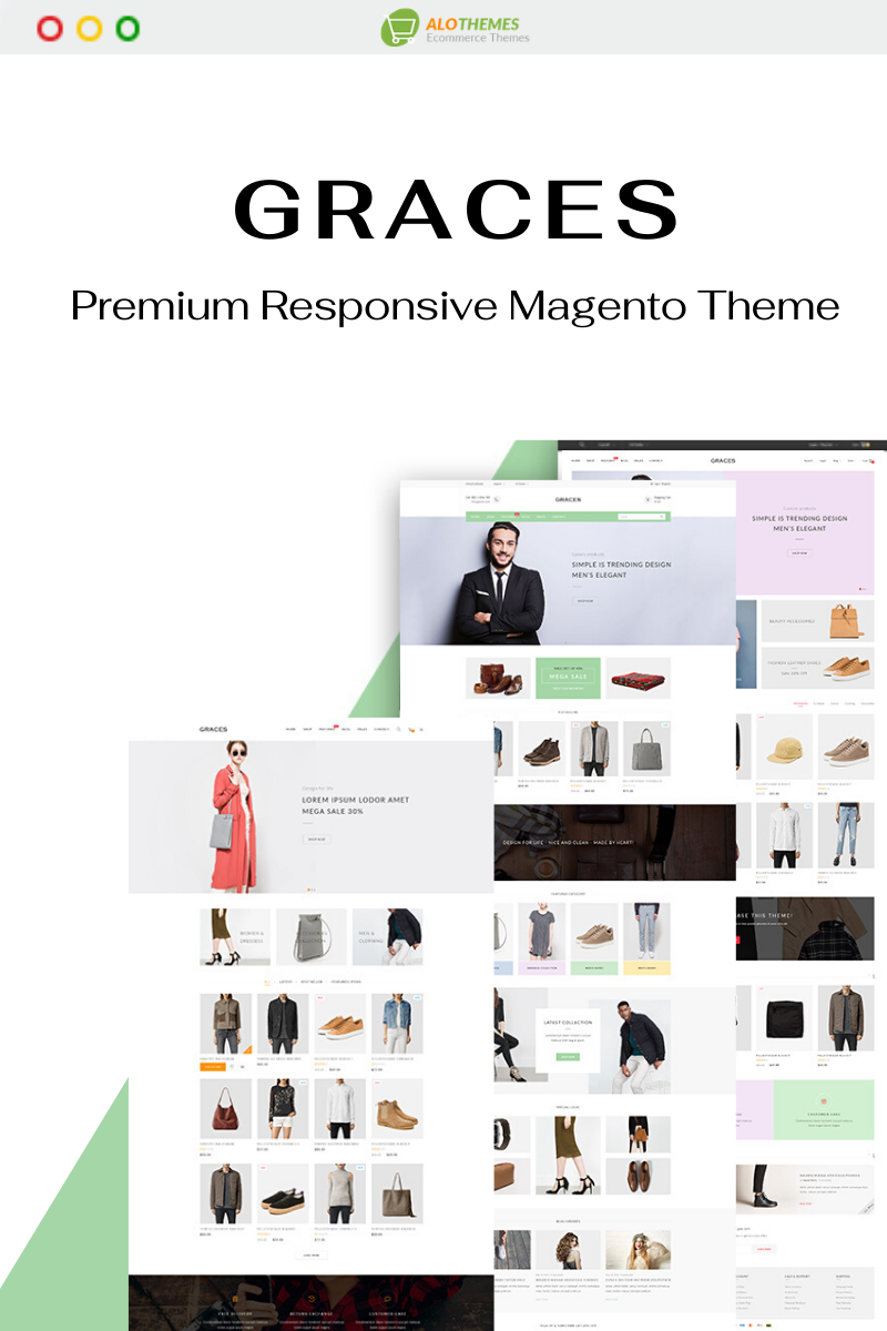 Graces - Fully Responsive Magento Theme