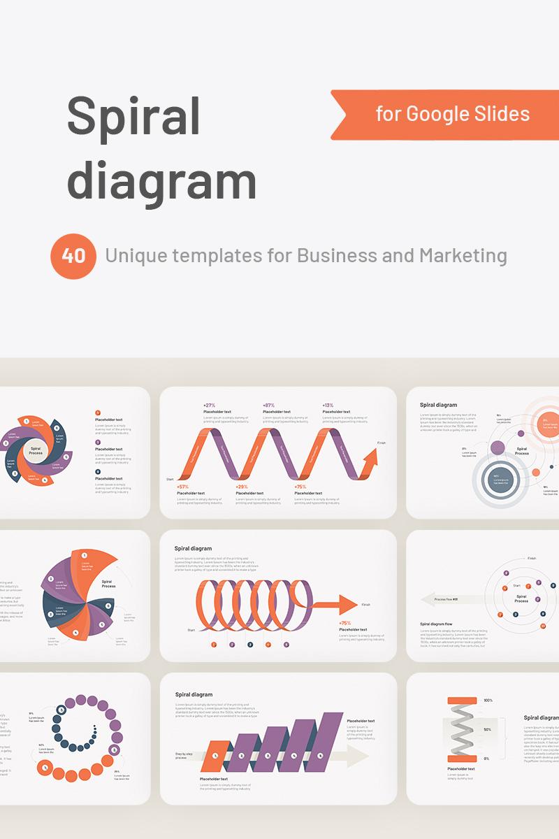 Spiral Diagram Google Slides