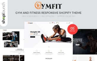 GymFit - Gym And Fitness Responsive Shopify Theme