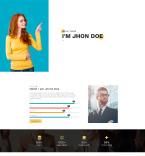 Персональные сайты, визитки. Шаблон сайта 99339