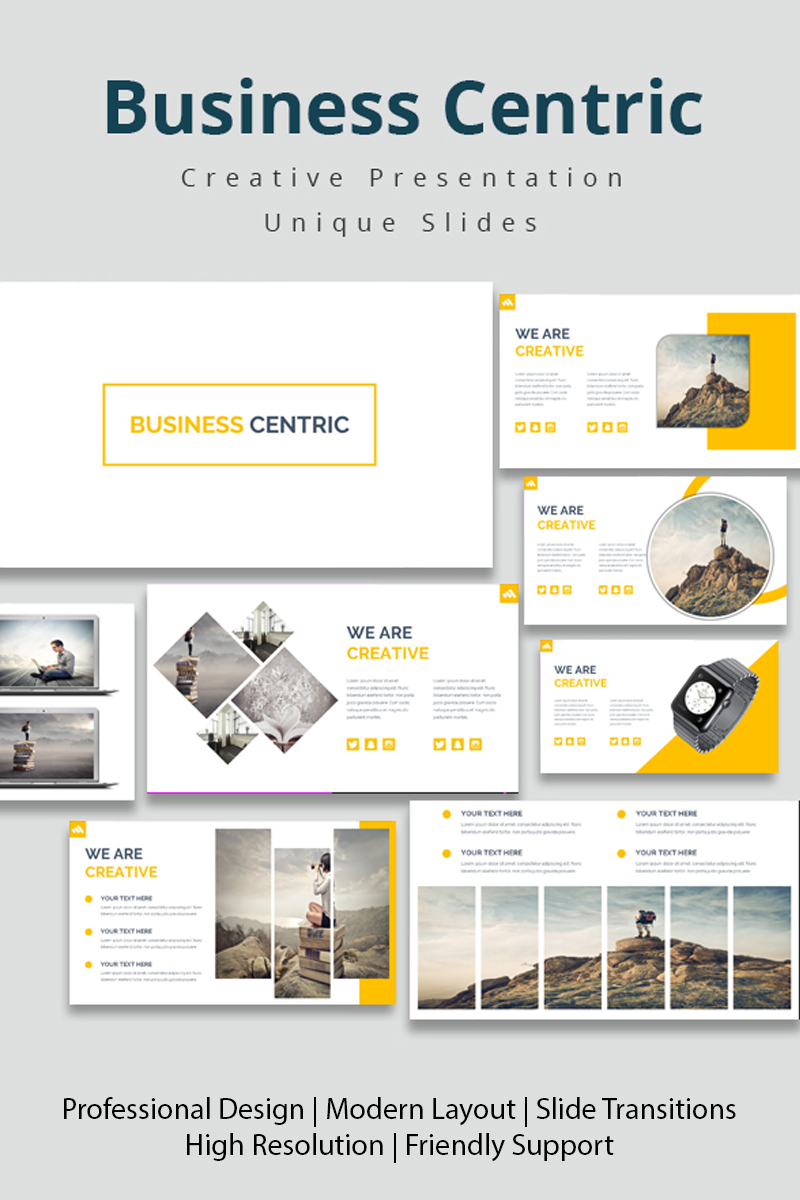 Business Centric PowerPoint Template