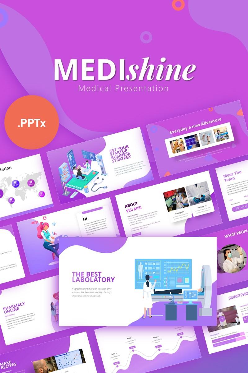 Medishine Medical Presentation PowerPoint Template