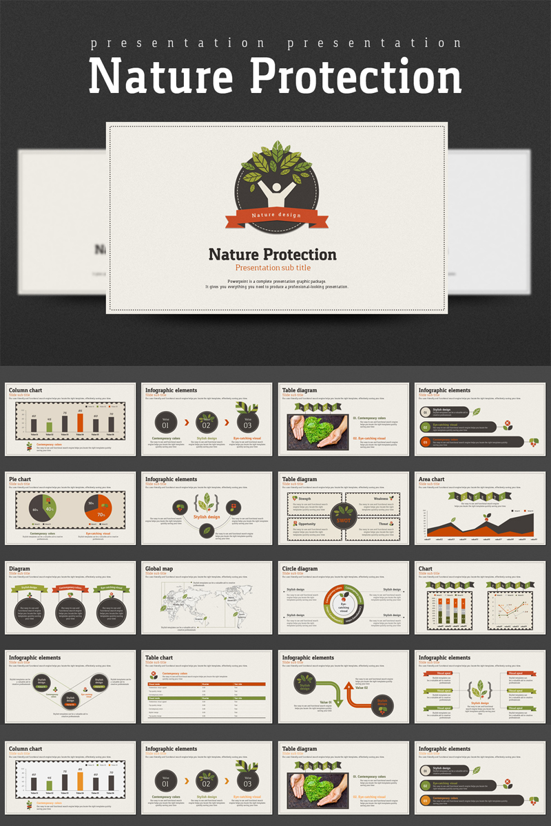 Nature Protection PowerPoint Template