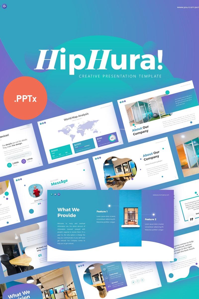"""PowerPoint šablona """"HipHura Creative Business Presentation"""" #99343"""