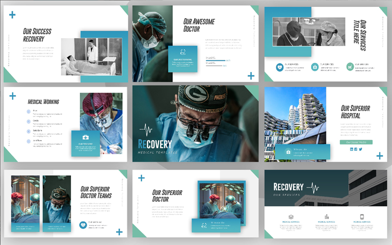 Recovery Medical PowerPoint Template