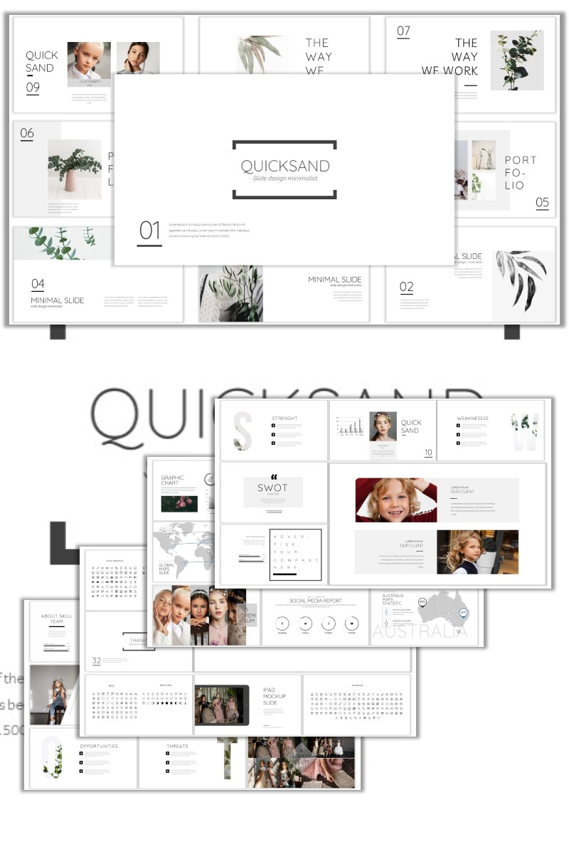 Responsive Quicksand Powerpoint #99403