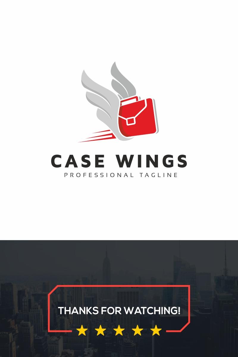 "Šablona logotypu ""Case Work"" #99485"