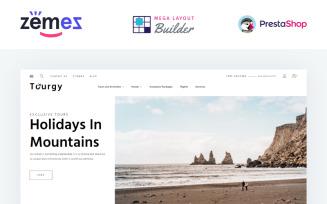 Tourgy - Travel Agency eCommerce Template PrestaShop Theme