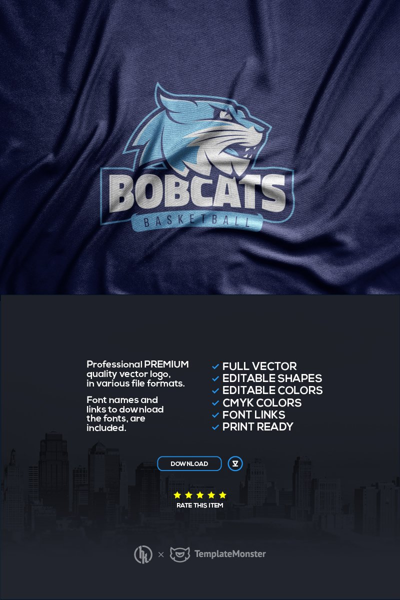 """""""Bobcats"""" modèle logo  #99691"""