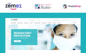 COVID - Medical Supplies eCommerce Template PrestaShop Theme