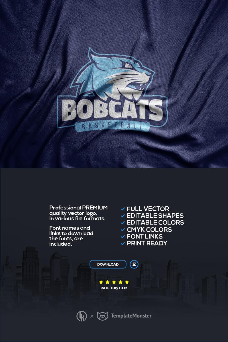 "Template di Loghi #99691 ""Bobcats"""