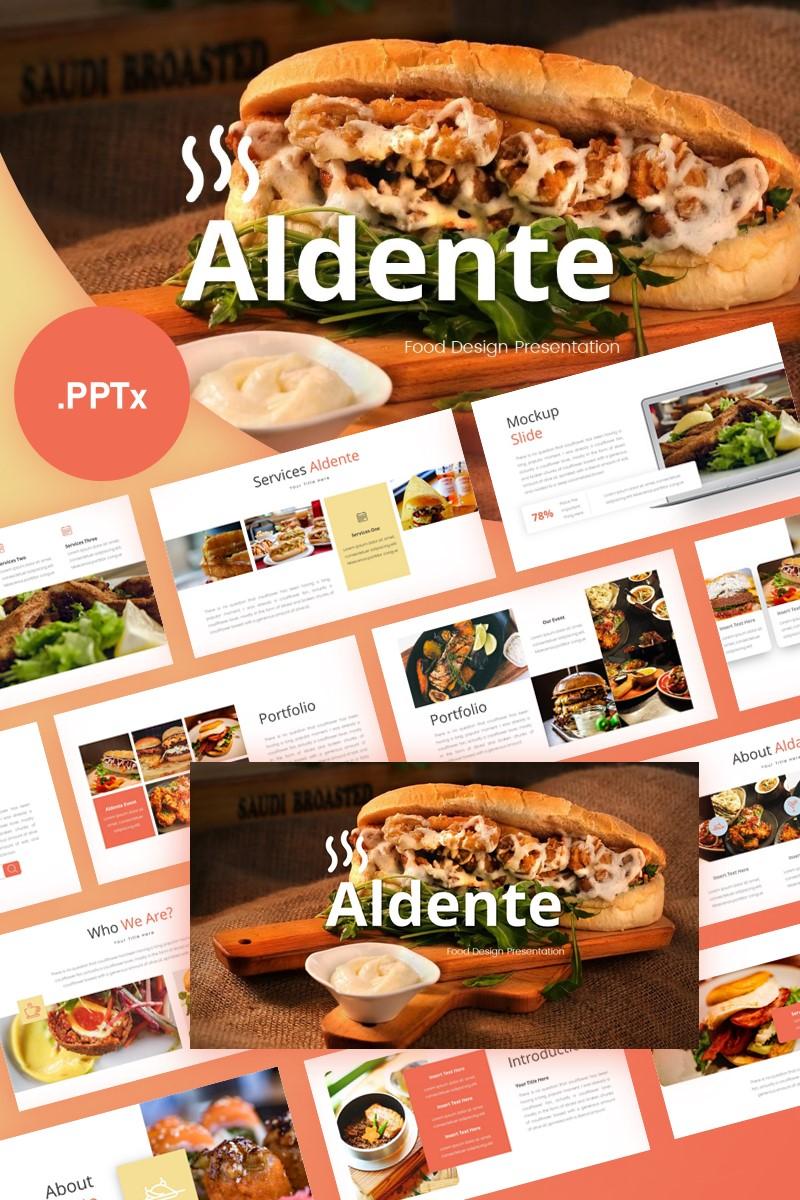 Aldente Food Presentation PowerPoint Template