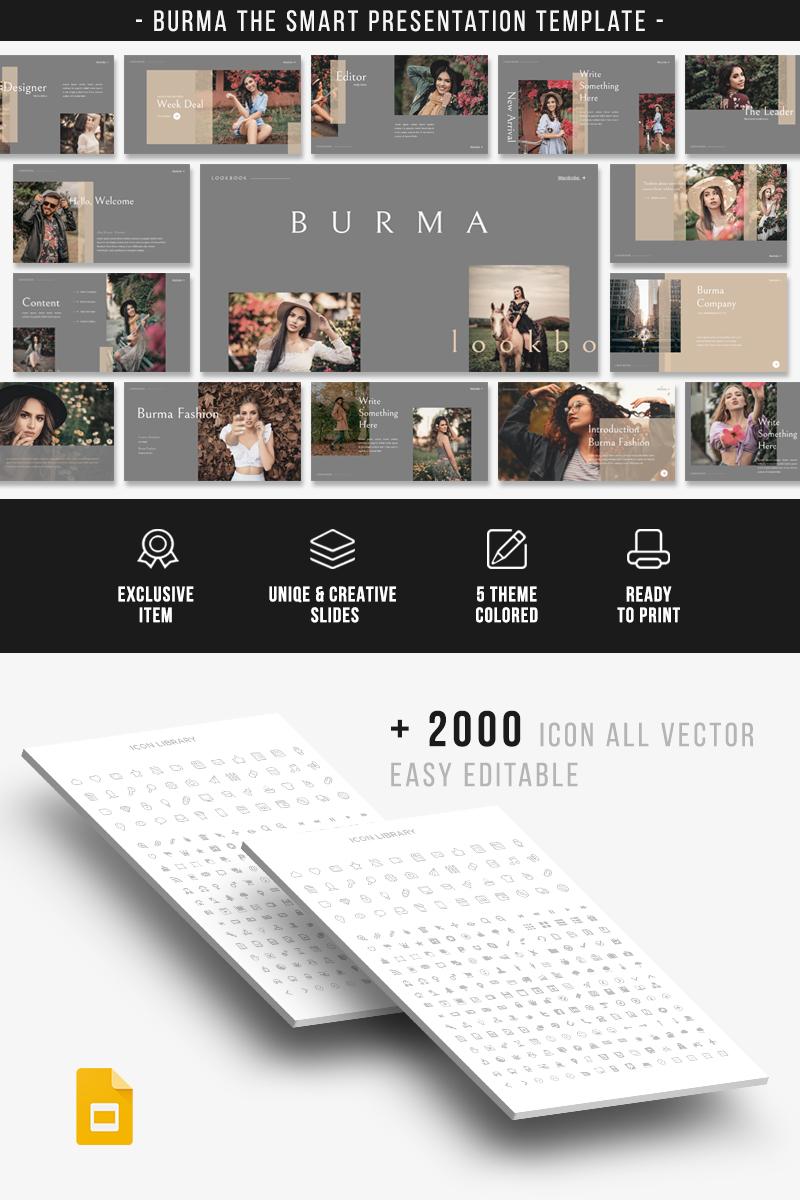 BURMA Google Slides PowerPoint Template