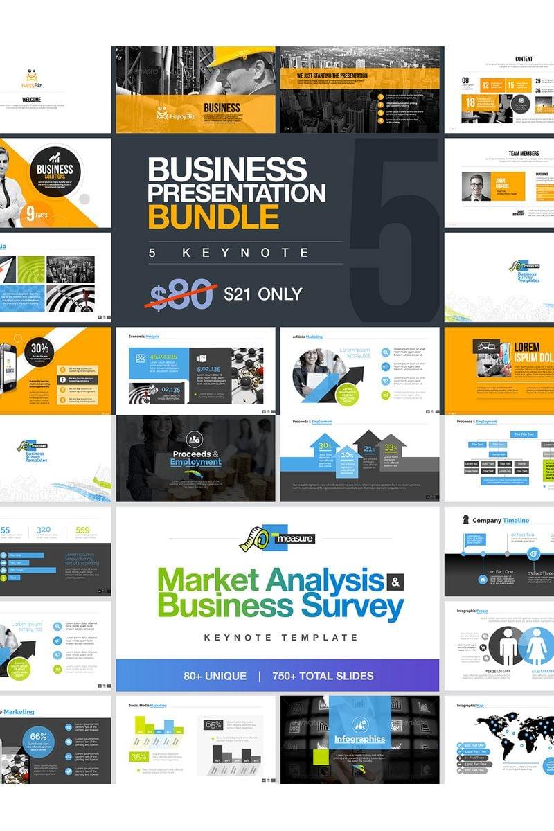 "Plantilla Keynote ""Business Bundle"" #99741"