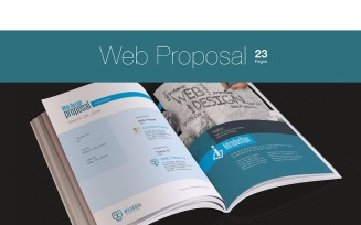 Web Proposal for Web Design Project - Corporate Identity Template
