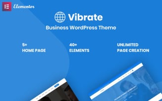Vaibrate - Business Responsive WordPress Theme