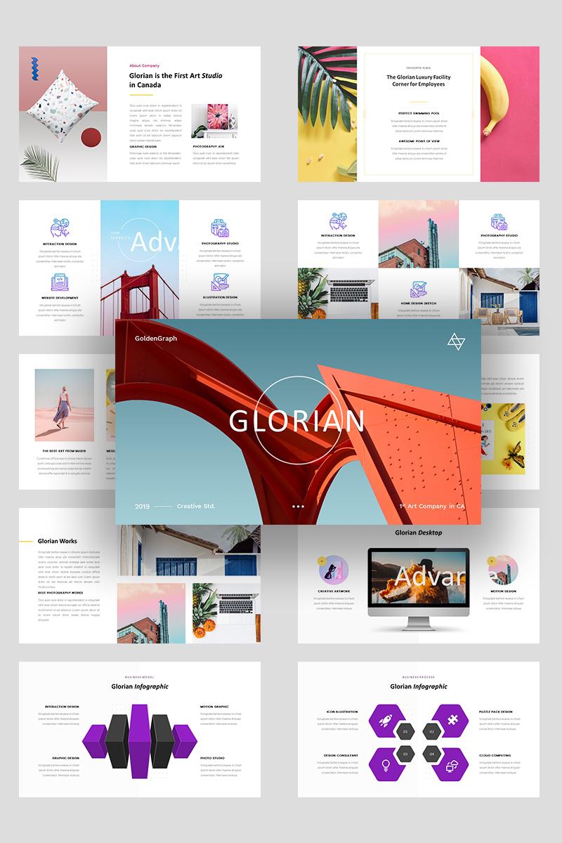 Premium Glorian Creative Business PowerPointmall #99850