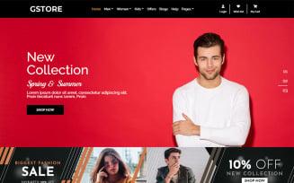 GSTORE Multipurpose Website - Online Store HTML Template Website Template