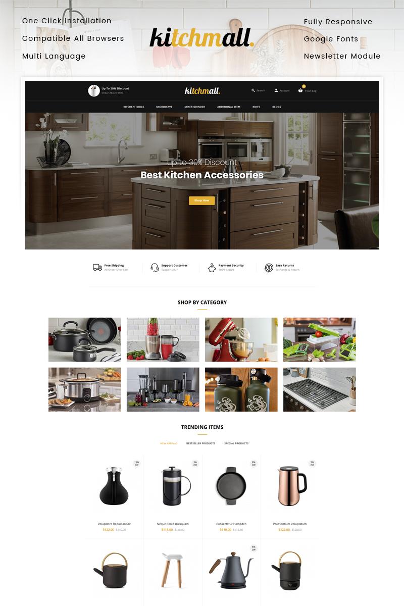 Responsywny szablon OpenCart Kitchmall - Kitchen Store #99912