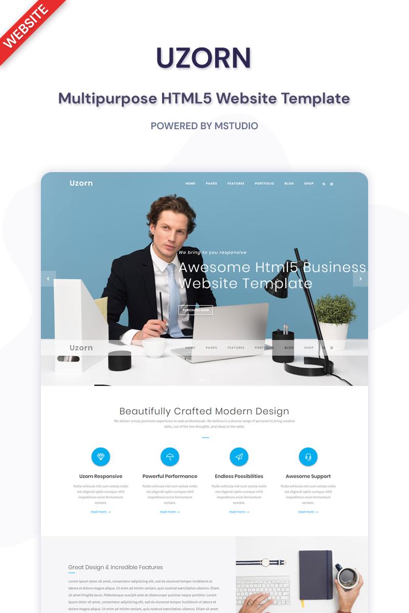 Uzorn - Responsive Multi-Purpose Website Template