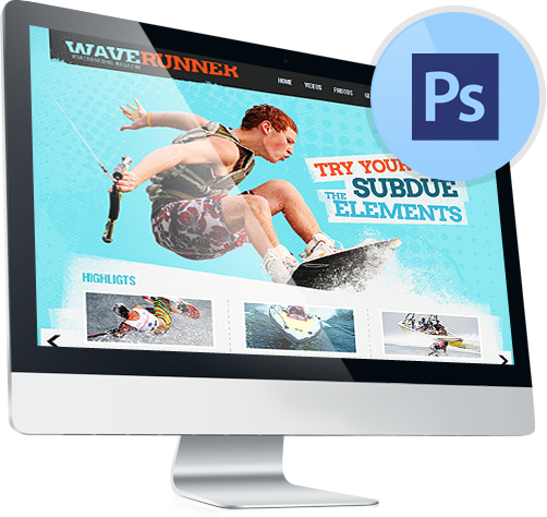 PSD Templates, PSD (Photoshop) Web Templates - Template Monster