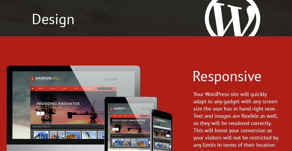Industrial Responsive WordPress Theme with Multiple Layout Options, Blog, Portfolio