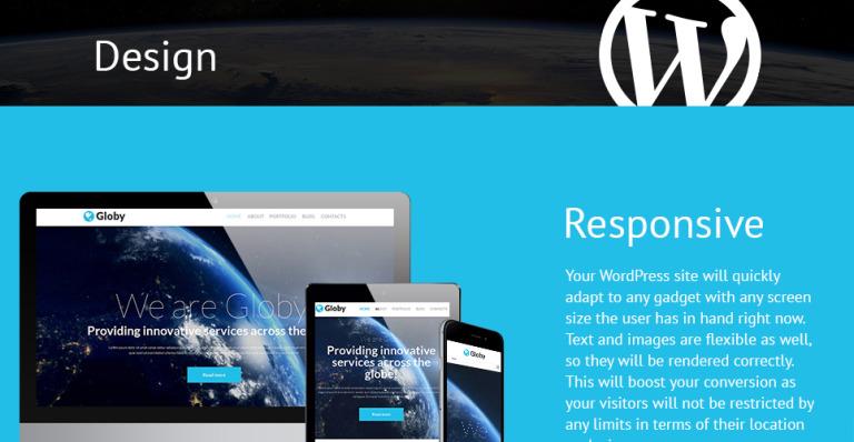 Your Business WordPress Theme #51253