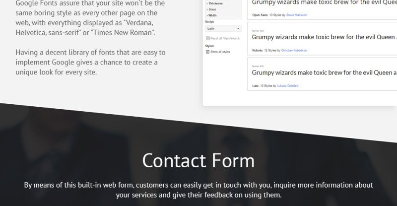 Consulting Co WordPress Theme - Features Image 10