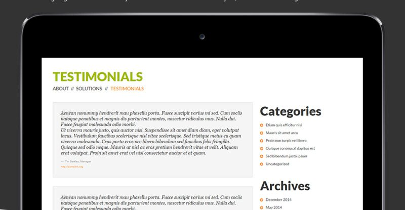 Consulting Co WordPress Theme - Features Image 27