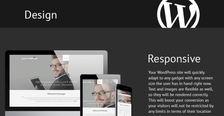 Tema de WordPress #52949 para Sitio de Páginas personales