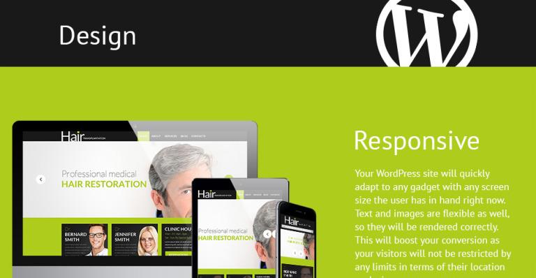 Tema de WordPress #53016 para Sitio de Peluquerías