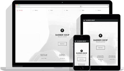 fashion beauty website templates templatemonster. Black Bedroom Furniture Sets. Home Design Ideas