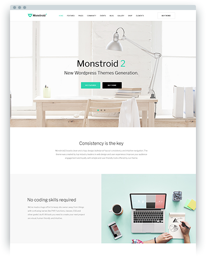 Wordpress Themes 2018 39 S Best Wordpress Templates Templatemonster