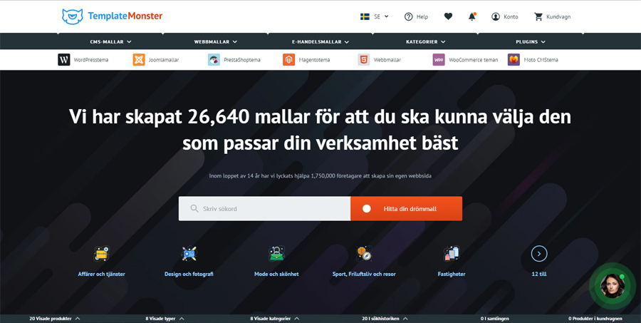 templatemonster now available in swedish template monster