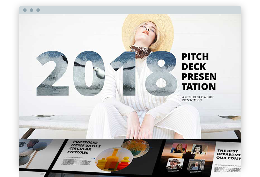 Powerpoint templates ppt templates powerpoint themes 2018 pitch deck powerpoint template toneelgroepblik Image collections