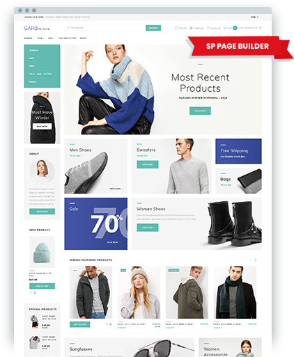 220 VirtueMart Templates | VirtueMart Themes | Template Monster