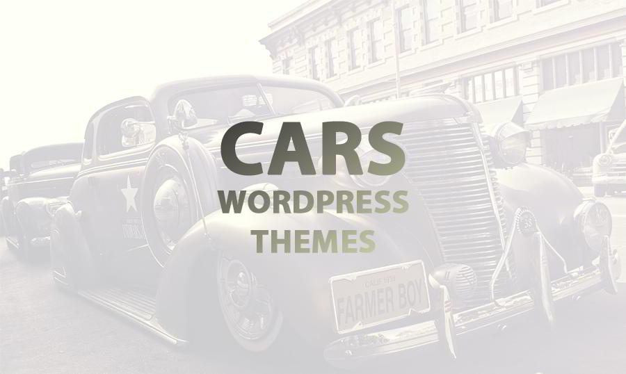 The Most Driving Cars WordPress Themes Designed