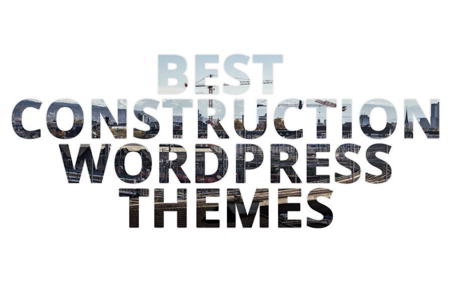TOP 45 Construction WordPress Themes