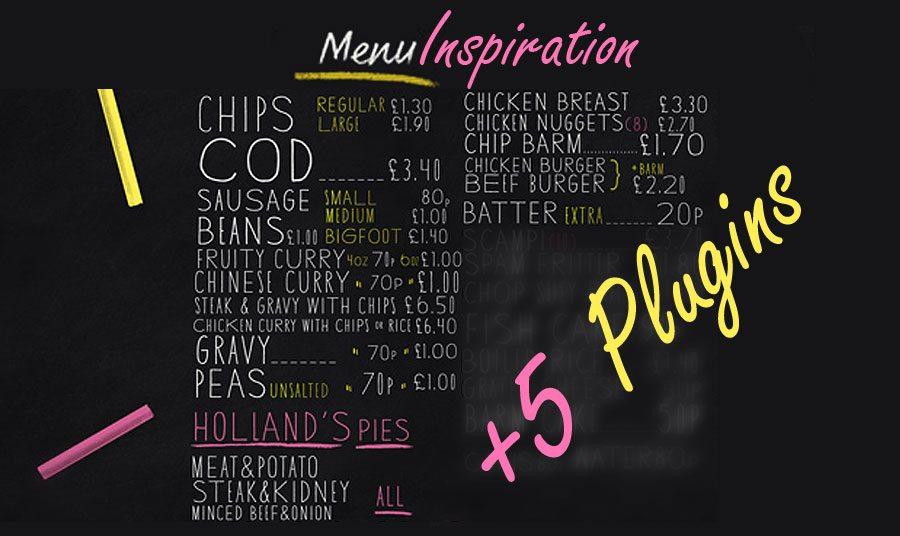Best Menu Practices on Food & Drink Sites. Bonus – Useful Menu Plugins