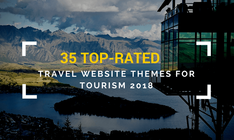 35 Top-Rated WordPress Travel Themes For Tourism 2018
